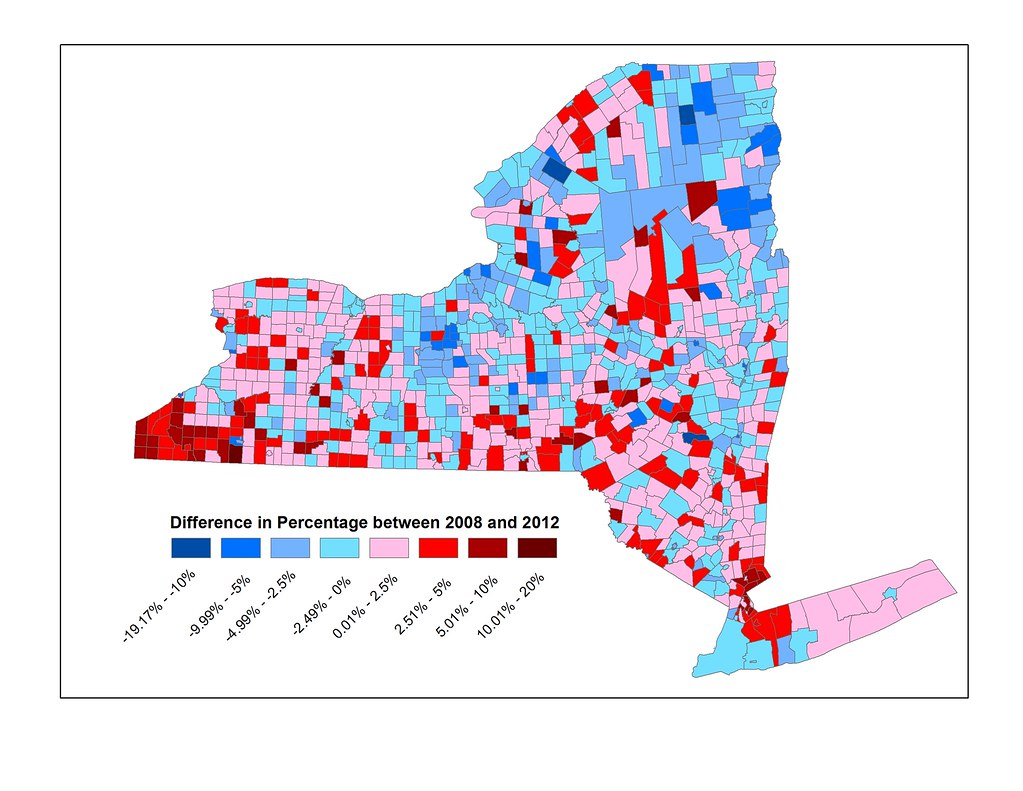 NY 2012 Results Change Map  ProudNewEnglander  Flickr