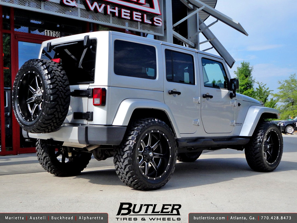 Jeep Wrangler With White Rims >> Jeep Wrangler with 22in Fuel Maverick Wheels | Additional Pi… | Flickr