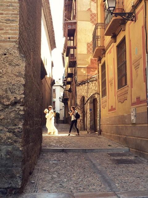 Bride in Granada, Spain