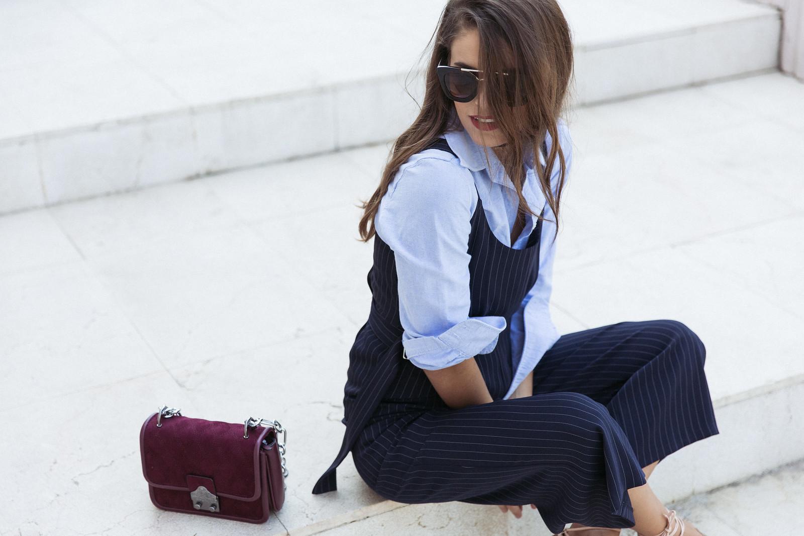 Jessie Chanes Seams for a desire - Pinstripped suit topshop heeled sandals schutz parfois bag  -7