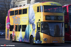 Wrightbus NRM NBFL - LTZ 1436 LT436 - Trolls - Dulwich Library 12 - Go Ahead London - London - 161126 - Steven Gray - IMG_4433