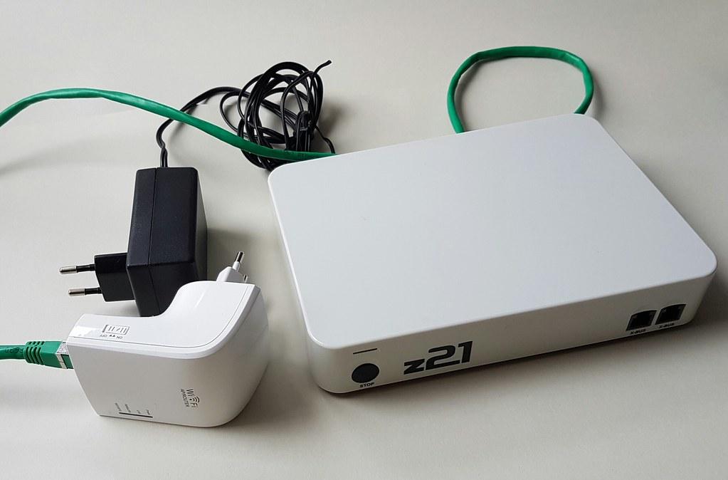 Kompakte WiFi-Lösung für z21-Netzwerkintegration