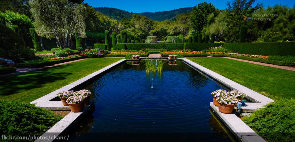 Sunken Garden Filoli Filoli Is A Country House Set In 16 Flickr
