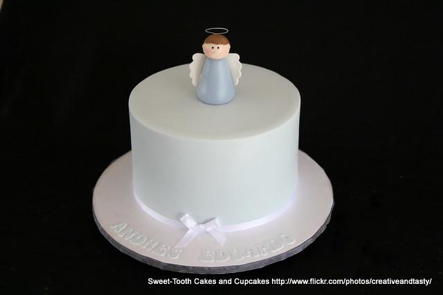 Baptism Cake Boy  Layer