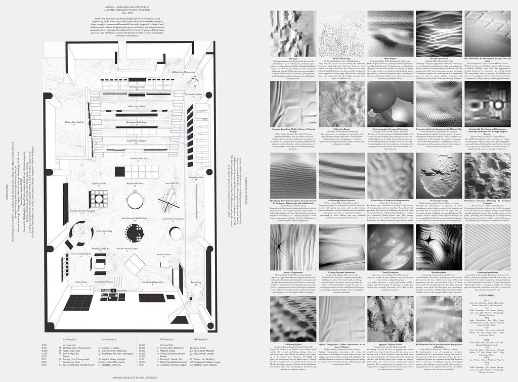 Harvard GSD Landscape Core III | Final Review Of Our Studio U2026 | Flickr