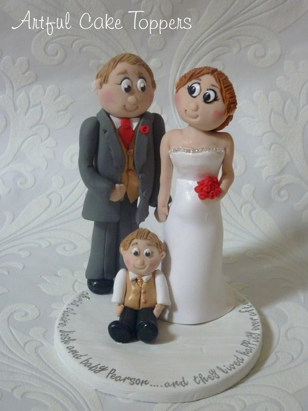 Wedding Cake Topper With Son
