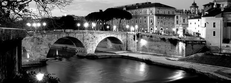Ponte Cestio pose longue
