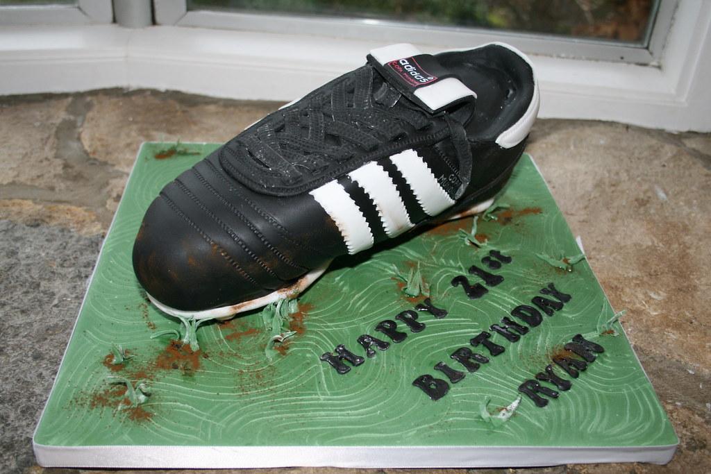 Adidas Cake Template