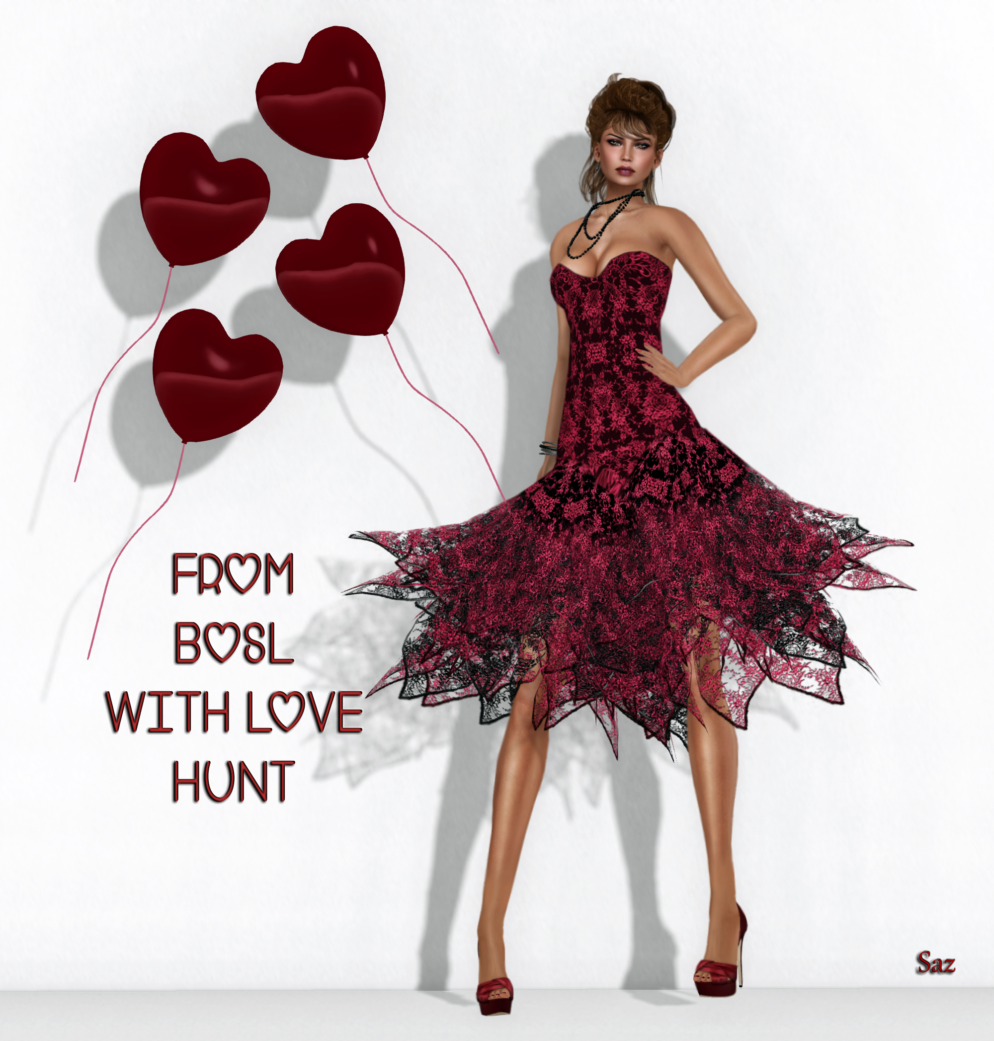 -AZUL- BOSL With Love HUNT