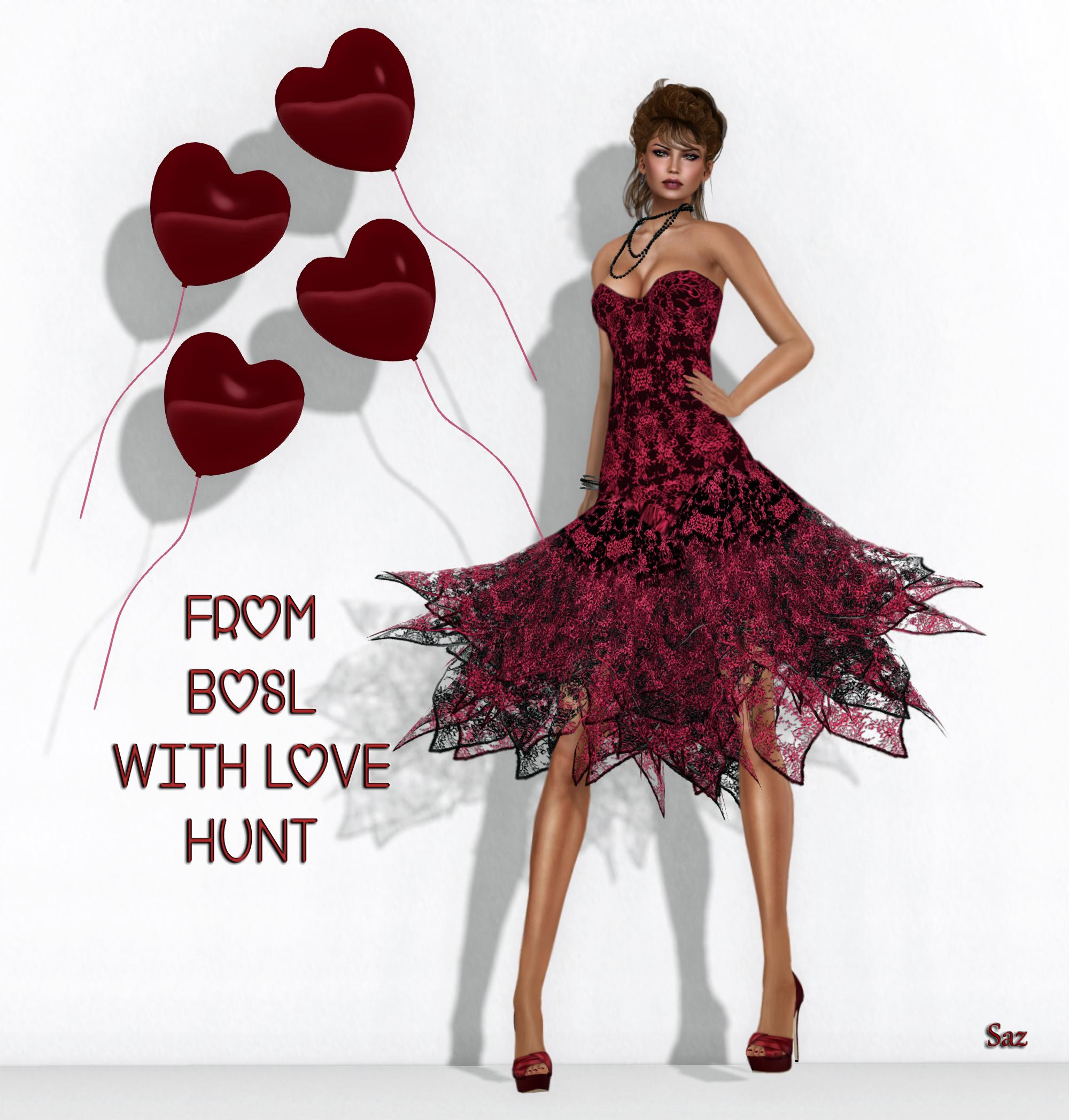 -AZUL- BOSL With Love HUNT