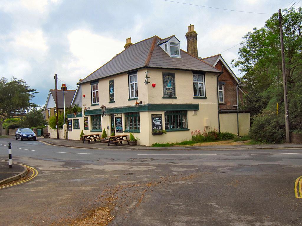Gurnard In May Isle Of Wight The Portland Inn In