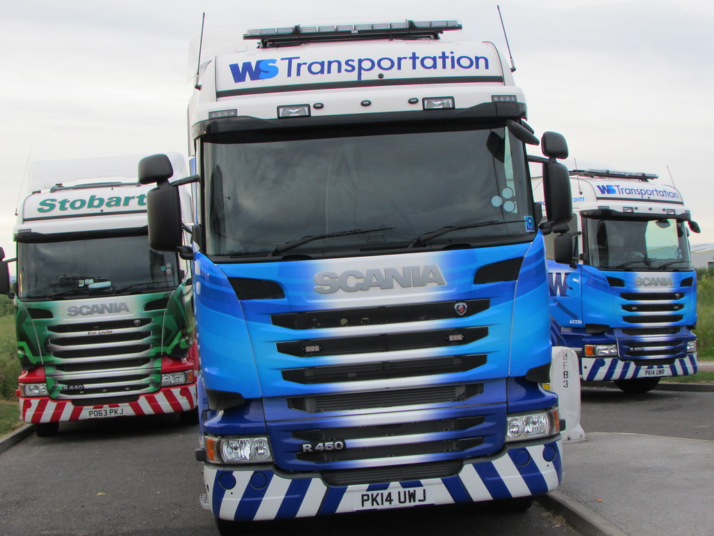 WS Transportation (Stobart) Scania R450