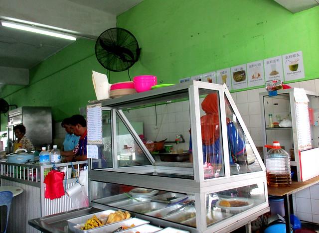 Diandianlai Cafe Malay stall