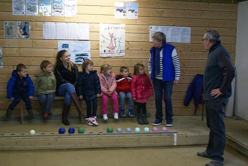 11/2016 - Plougasnou : initiation aux écoles