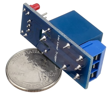 Scale size of Single Ch Relay Module