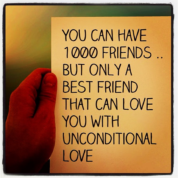 unconditional friendship quotes