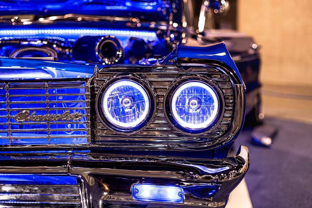 Quot Headlights Quot 1964 Chevrolet Impala Lowrider Dub Carshow