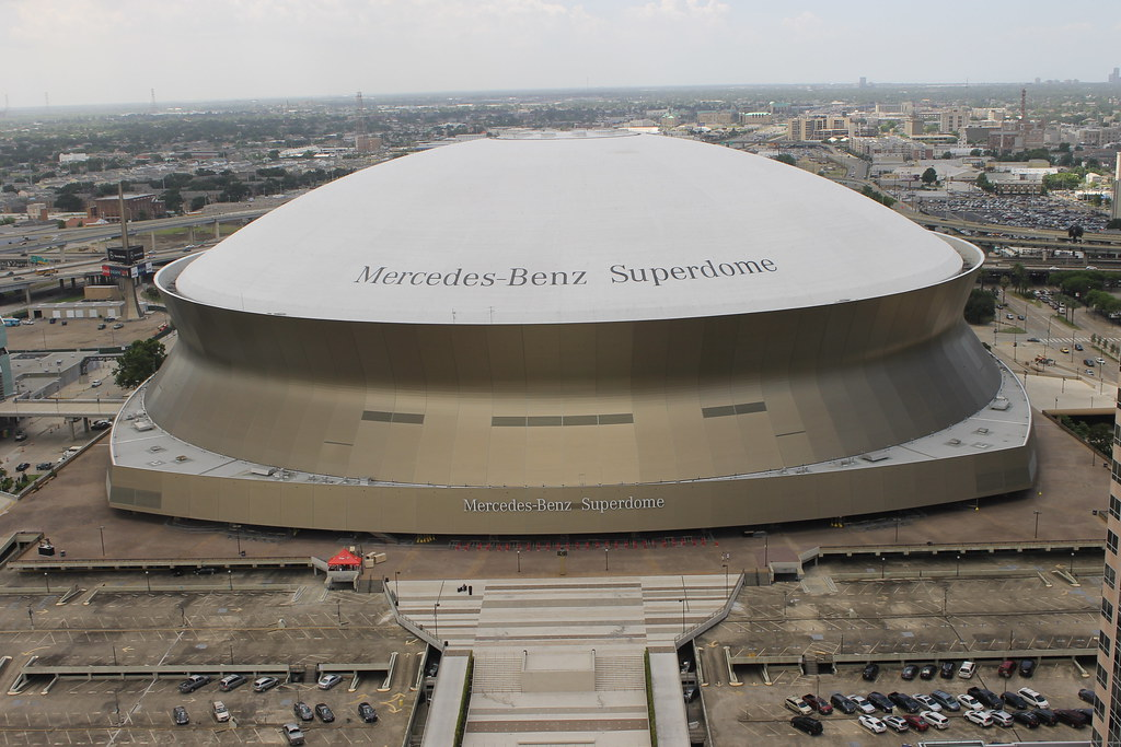 mercedes benz superdome new orleans la taken during our. Cars Review. Best American Auto & Cars Review