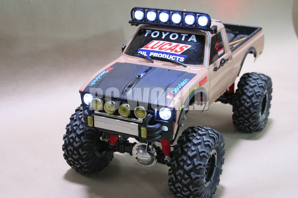 Tamiya Highlift Rc Toyota Hilux Monster Truck Tamiya