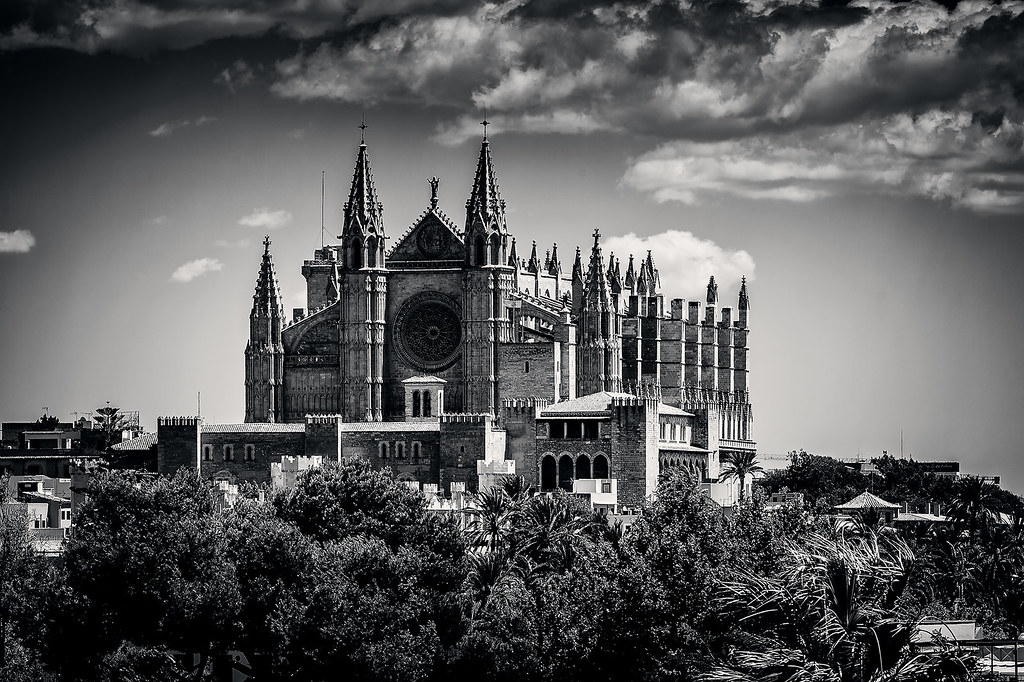 la seu cathedral palma de mallorca this shot was taken jus flickr. Black Bedroom Furniture Sets. Home Design Ideas