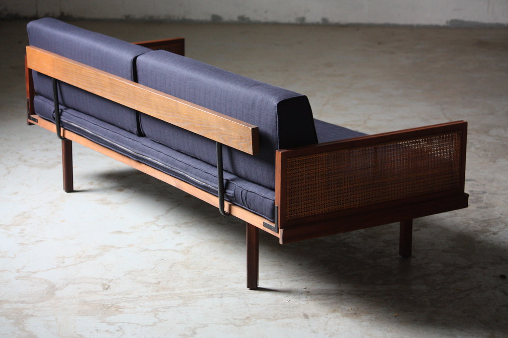 Wicked mid century modern daybed day bed sofa u s a 1960 for B furniture toronto
