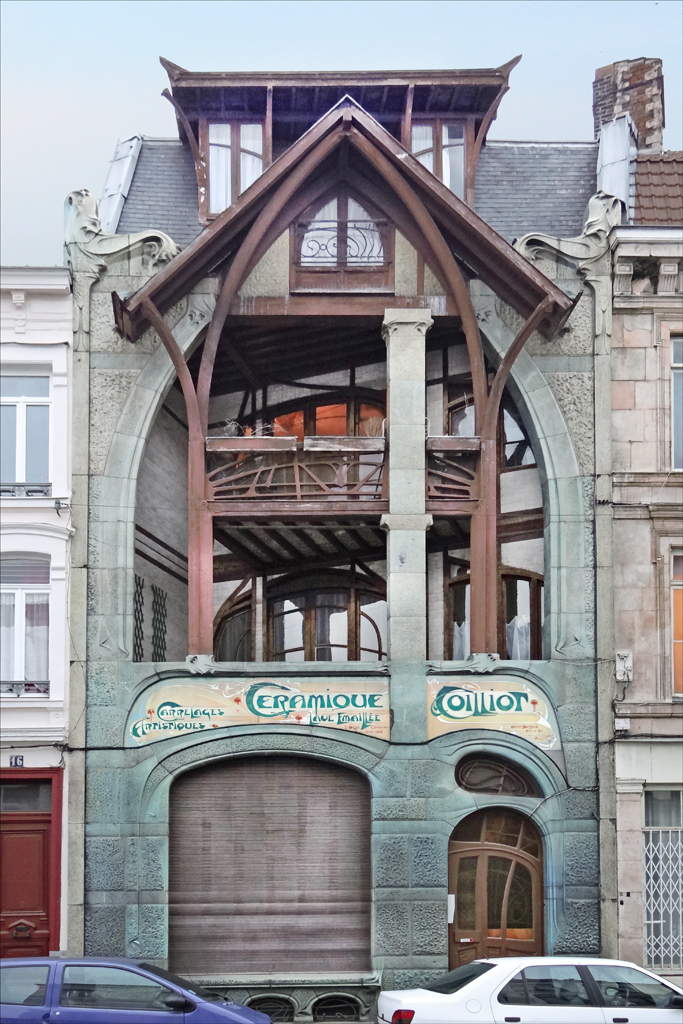 Maison art nouveau d 39 hector guimard lille la maison for Architecte 3d wikipedia