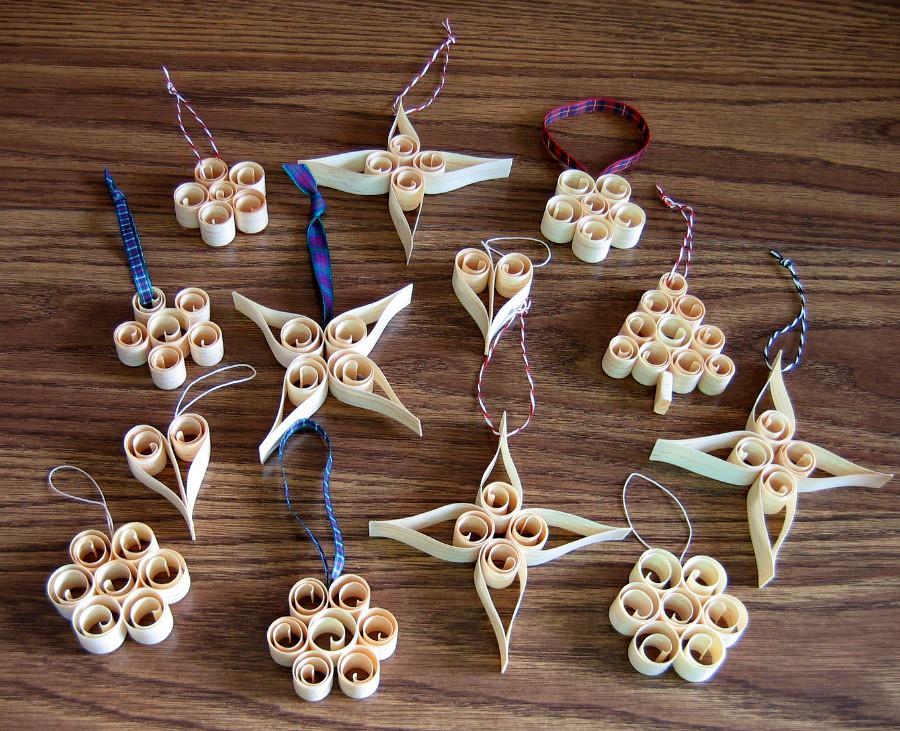Swedish Christmas Ornament Crafts