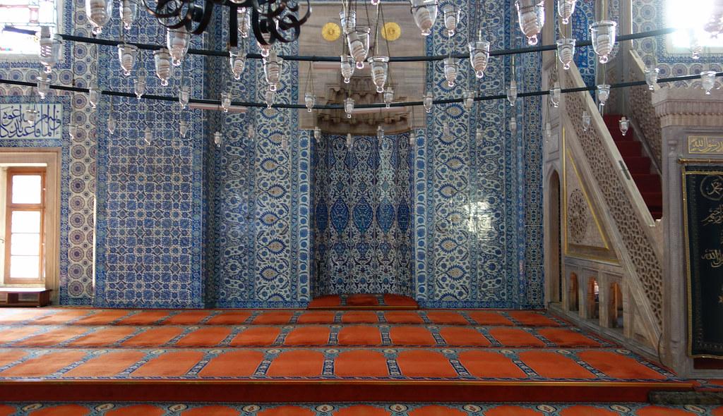 Sinan, Rüstem Paşa Mosque, mihrab  Mimar Sinan, Rüstem Pash…  Flickr