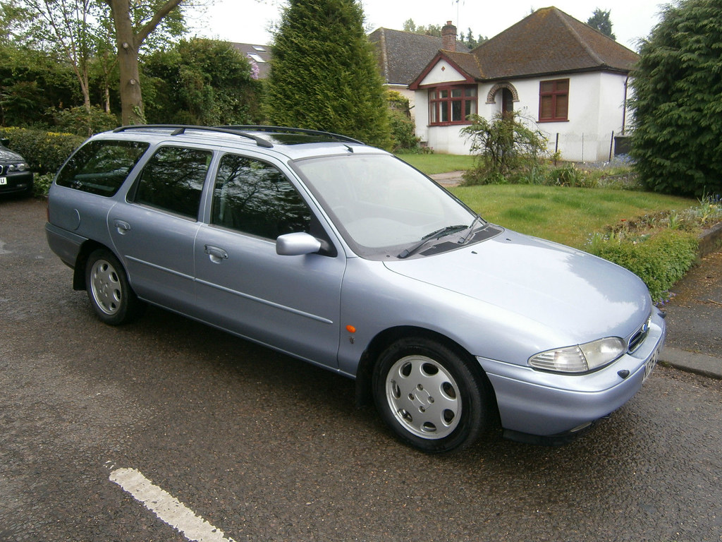 1995 ford mondeo 2 5 v6 ghia estate a lovely example with flickr. Black Bedroom Furniture Sets. Home Design Ideas