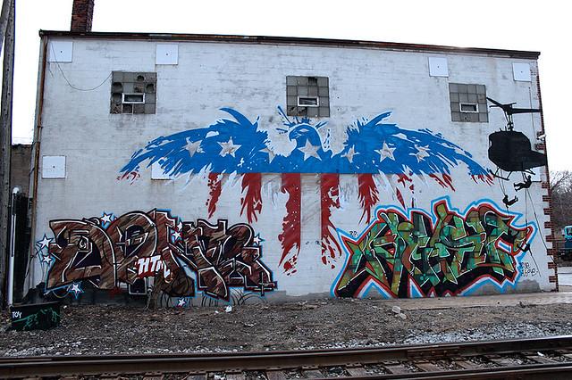american flag graffiti - photo #21