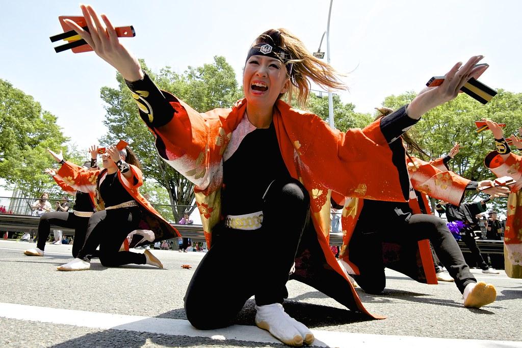 笑゛〜 第15回よさこいinおいでん祭(豊川市民祭り)