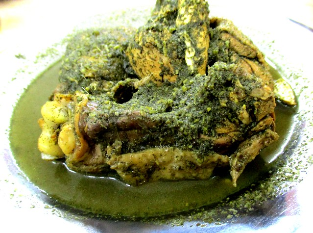 Anak Borneo kacang ma chicken with tuak