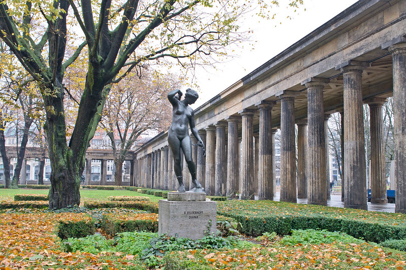 Courtyard of Museum Island - Treasures of Berlin's Museum Island | packmeto.com