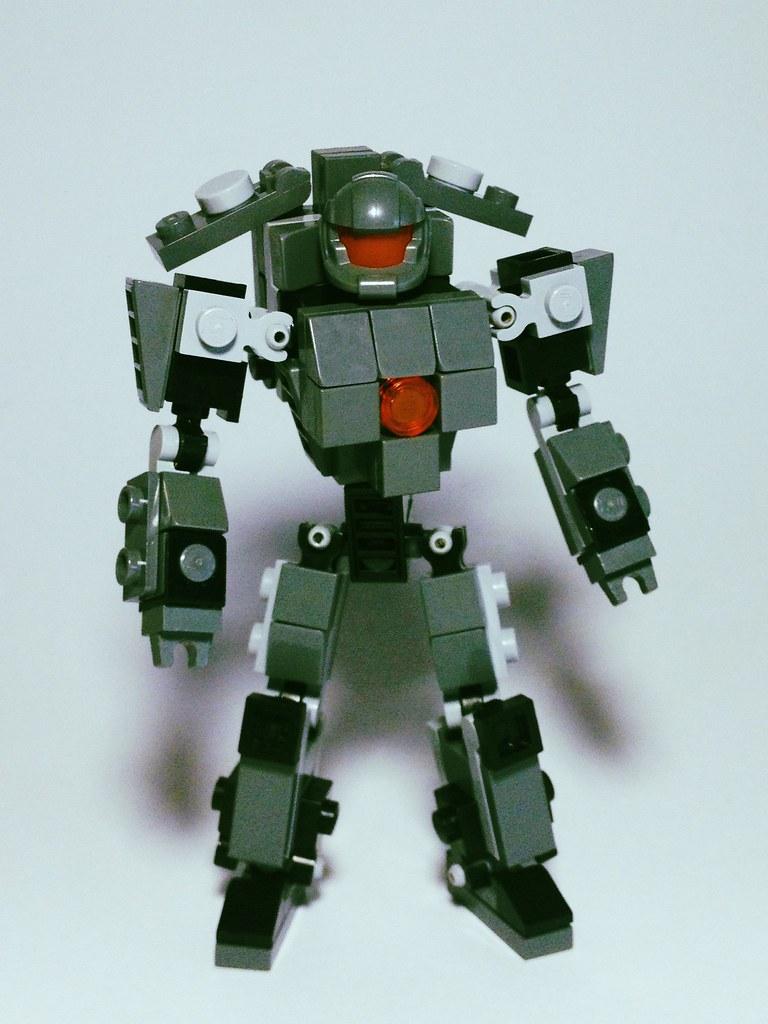 LEGO Pacific Rim Jaeger - Dingo Terror | Jaeger Mark 3 ...