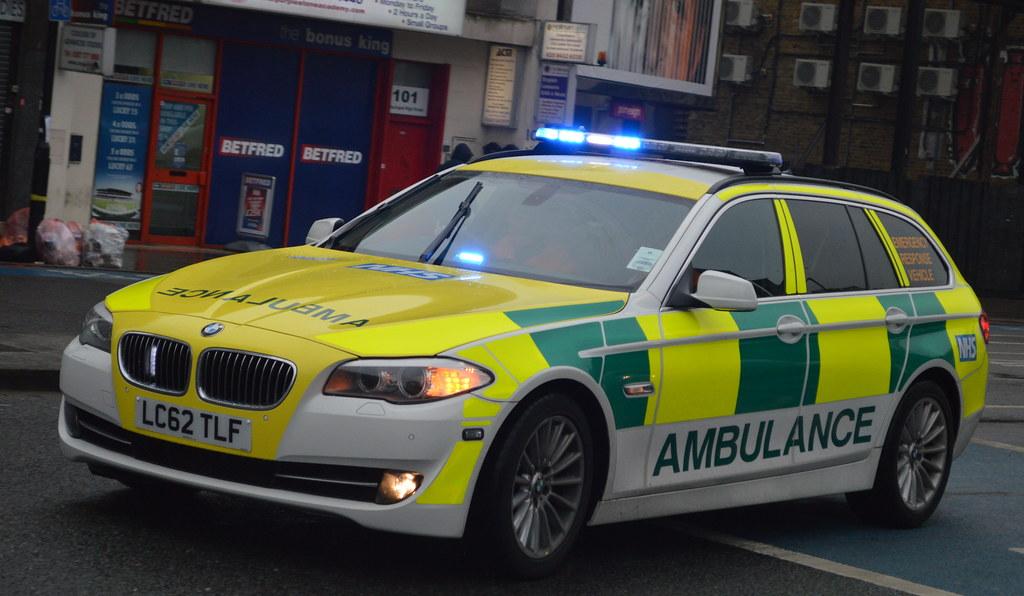 ambulance demonstrator bmw 520d rapid response vehicle flickr. Black Bedroom Furniture Sets. Home Design Ideas