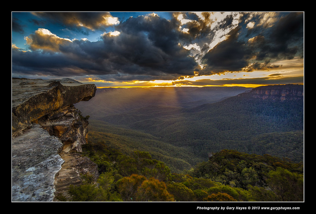 Lincoln S Rock Sunset Blue Mountains Canon 5d3 4332 Flickr