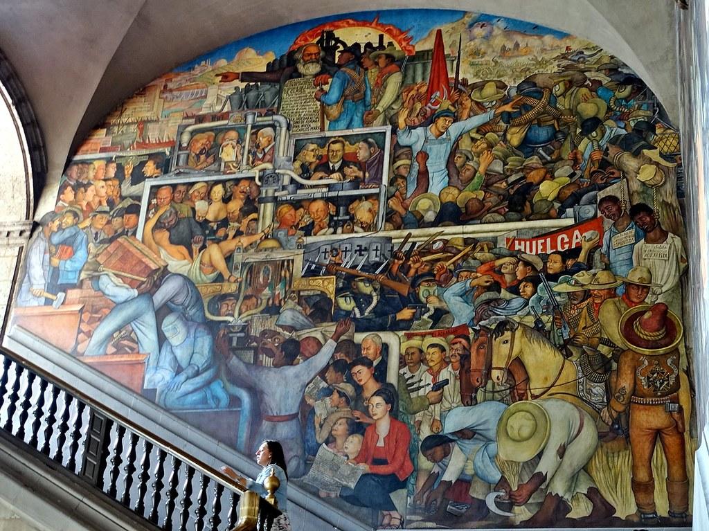 Diego rivera murals palacio nacional de mexico any port for Diego rivera mural palacio nacional