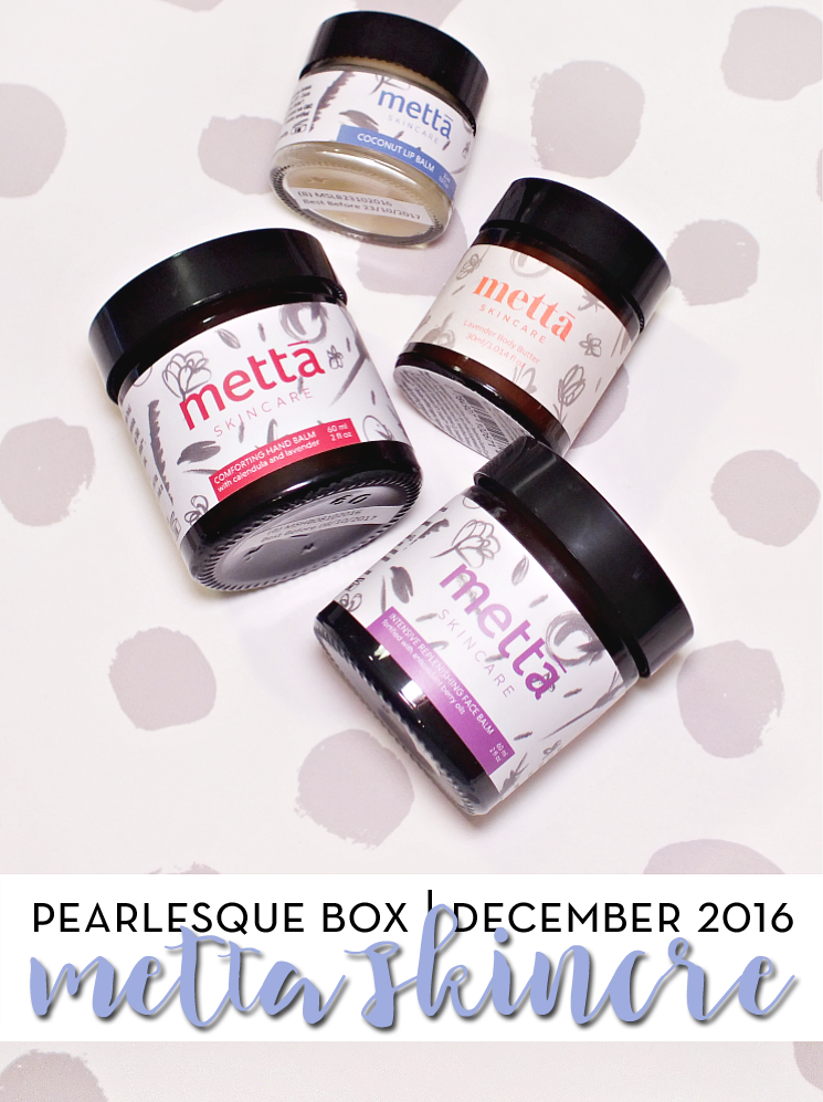 pearlesque box december 2016 metta skincare (4)