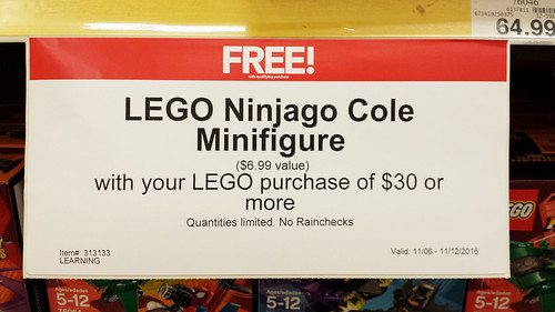 LEGO Ninjago Cole (5004393)