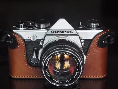 1.4 Lens 50mm F/1.4 Olympus Om-1 md