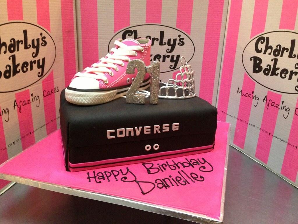 All Star Shoe Birthday Cake