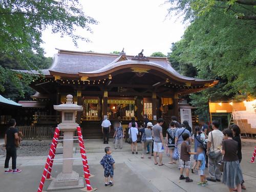 渋谷氷川神社のお祭り2013