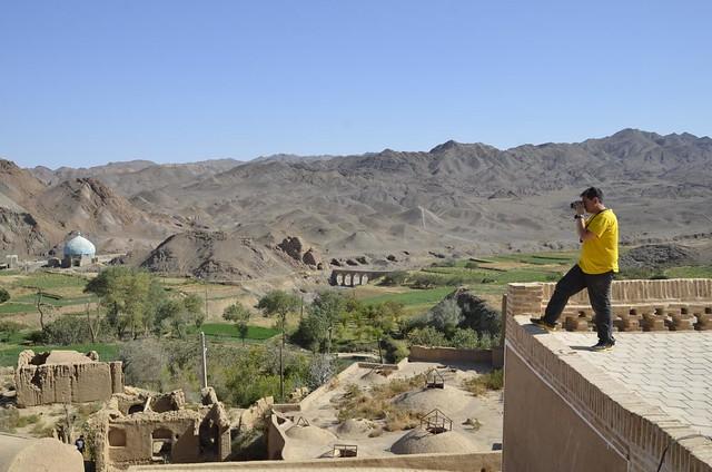 Sele en Kharanaq (Irán)