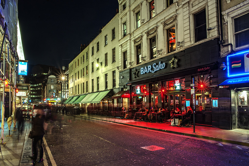 Old Compton Street, Soho, London | Dave Wood | Flickr