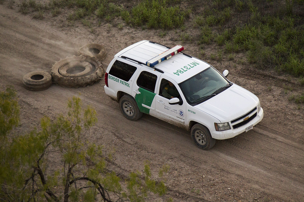 How To Get A Free Car From The Government >> South Texas Border Patrol Vehicle Covers Tracks | South Texa… | Flickr