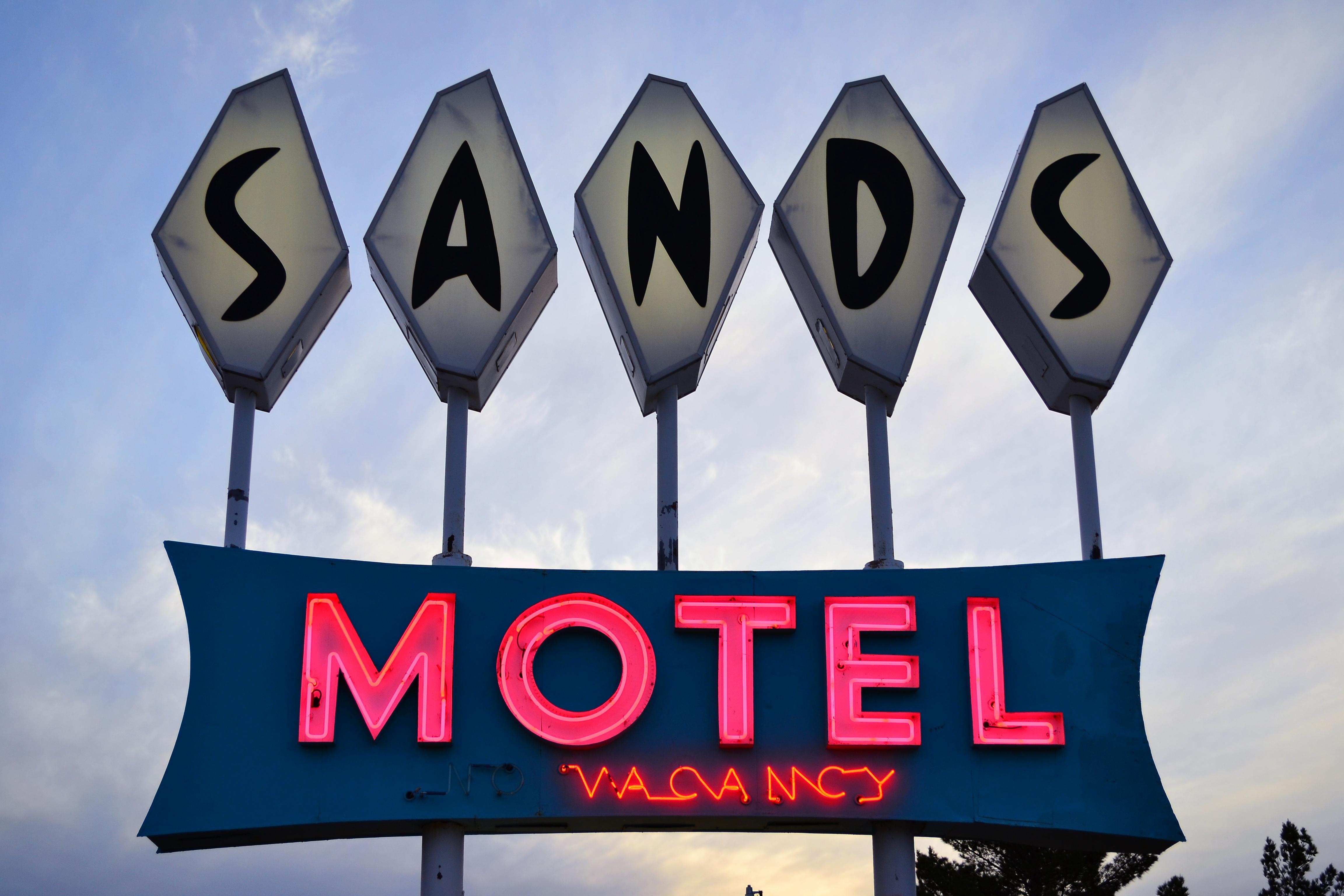 Sands Motel - 1400 Central Avenue, Carrizozo, New Mexico U.S.A. - November 27, 2013