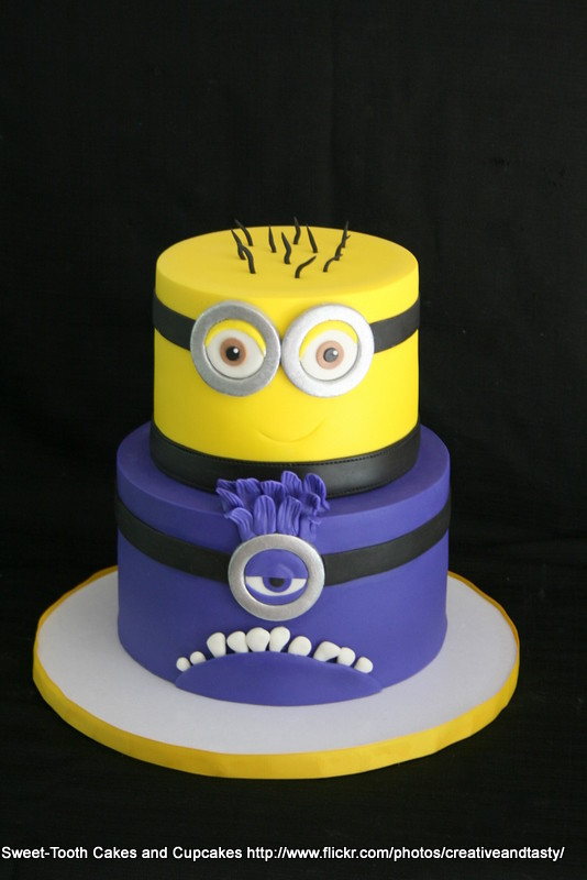 Minion Birthday Cake Supermarket