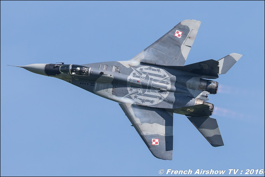 MiG-29 Polish Air Force , Polish Air Force Mikoyan MiG-29 , airpower zeltweg 2016 , AIRPOWER16 - Österreichs Airshow , Steiermark , Austria, Canon Reflex , EOS System