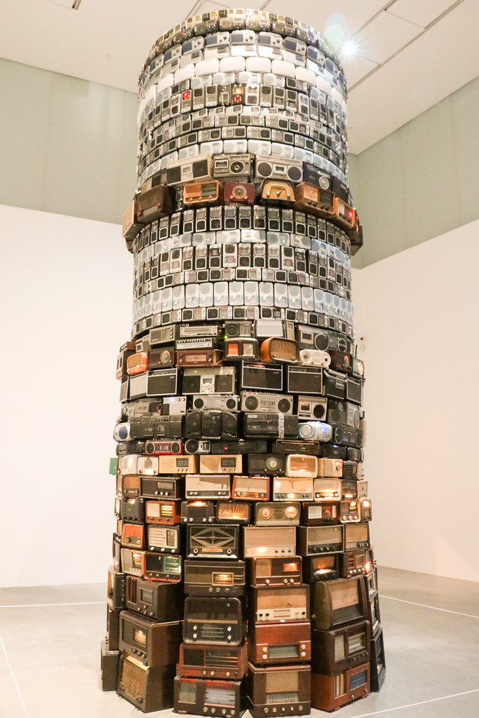 Babel 2001 By Cildo Meireles At The Tate Modern From