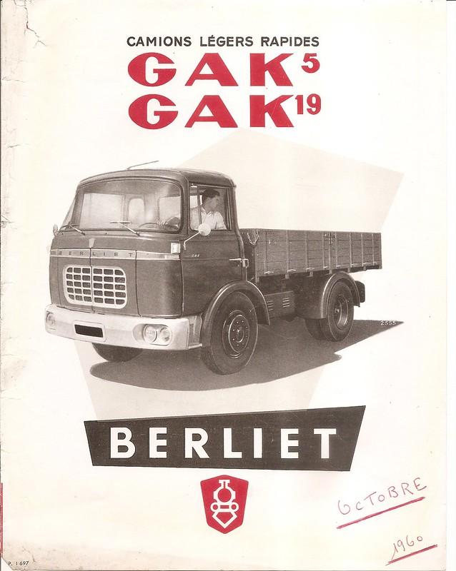 Pub , catalogues et livres sur BERLIET 31157801412_9c0b4327fc_c